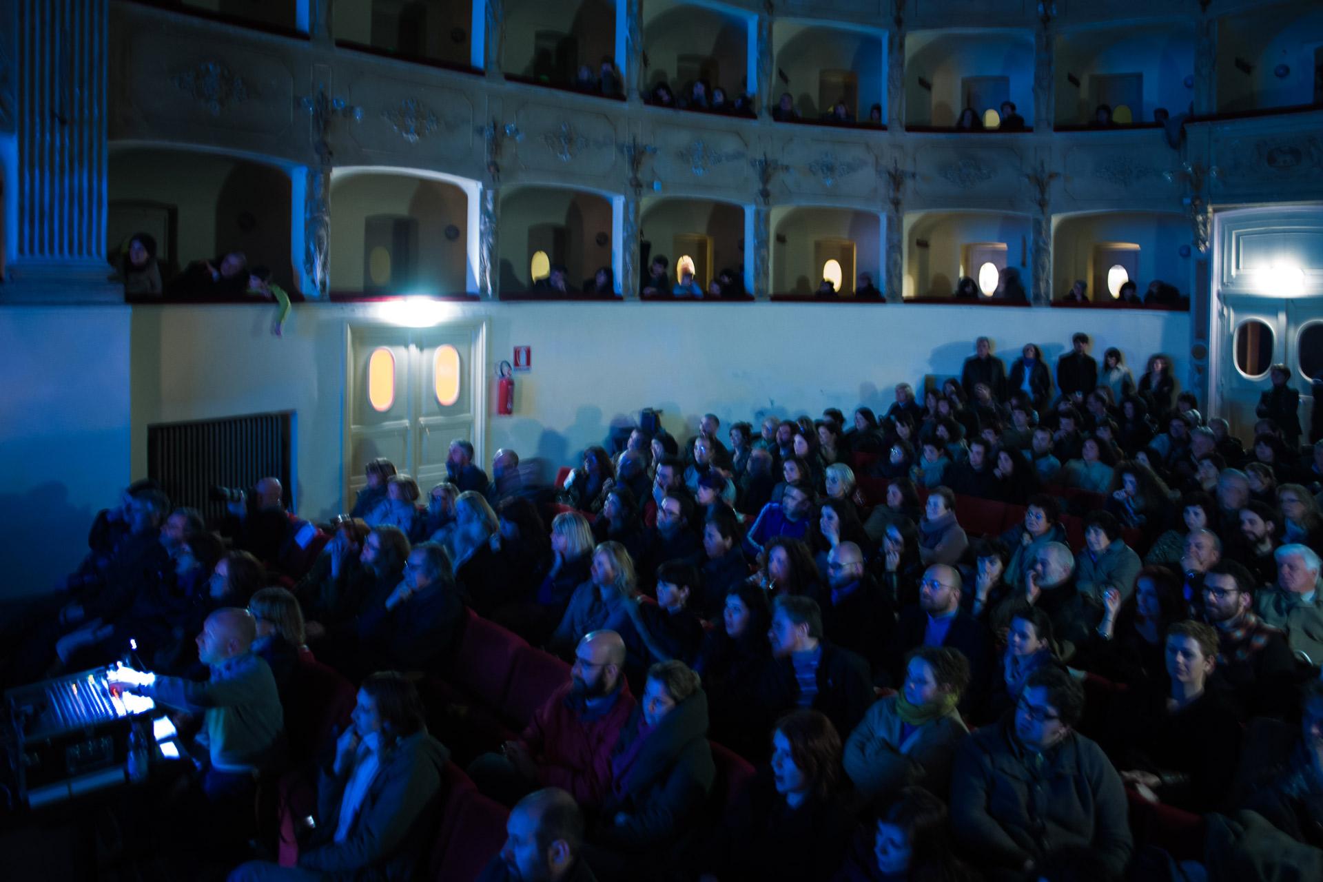 platea Teatro Impavidi Sarzana