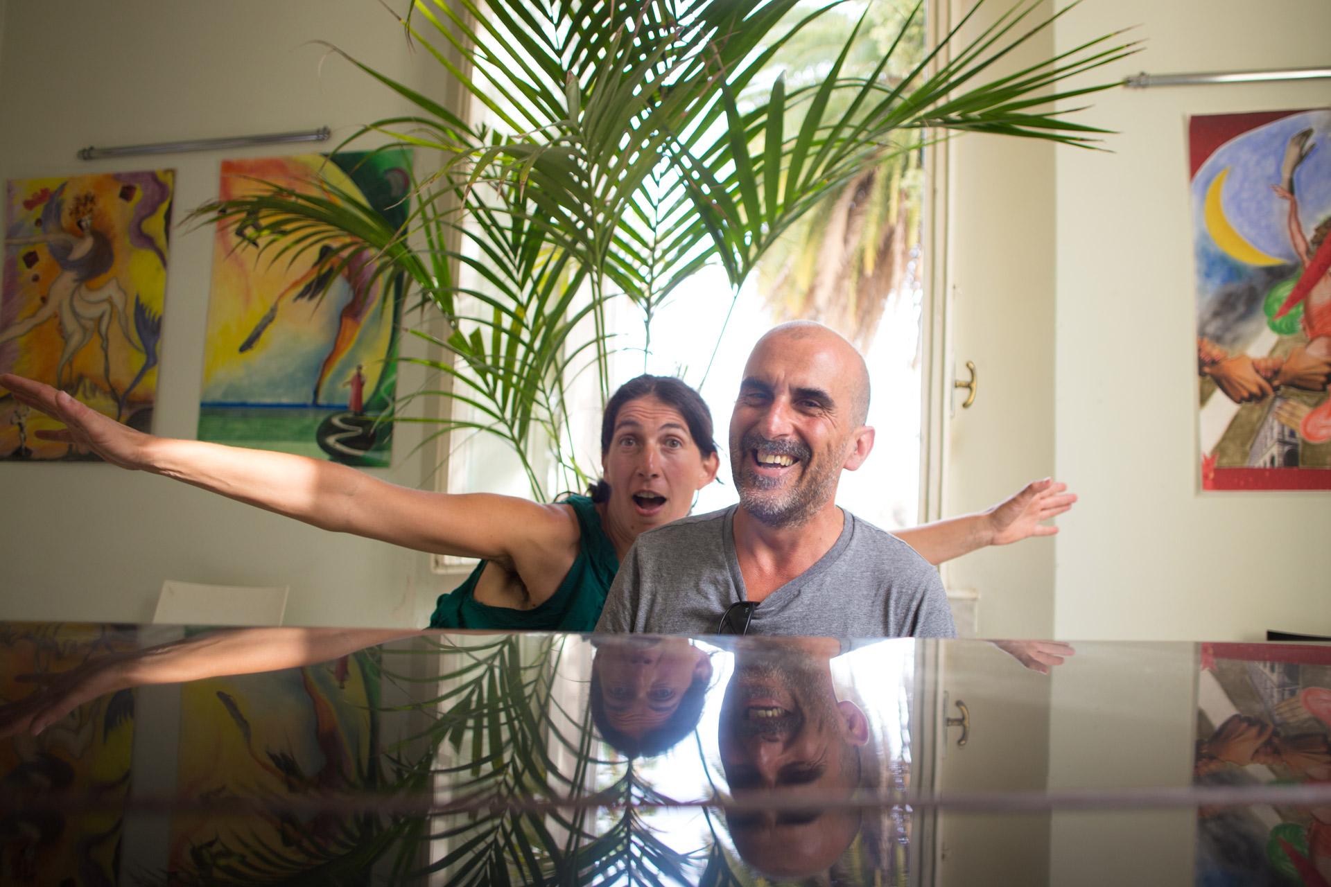 Cristina Alioto e Toni Garbini