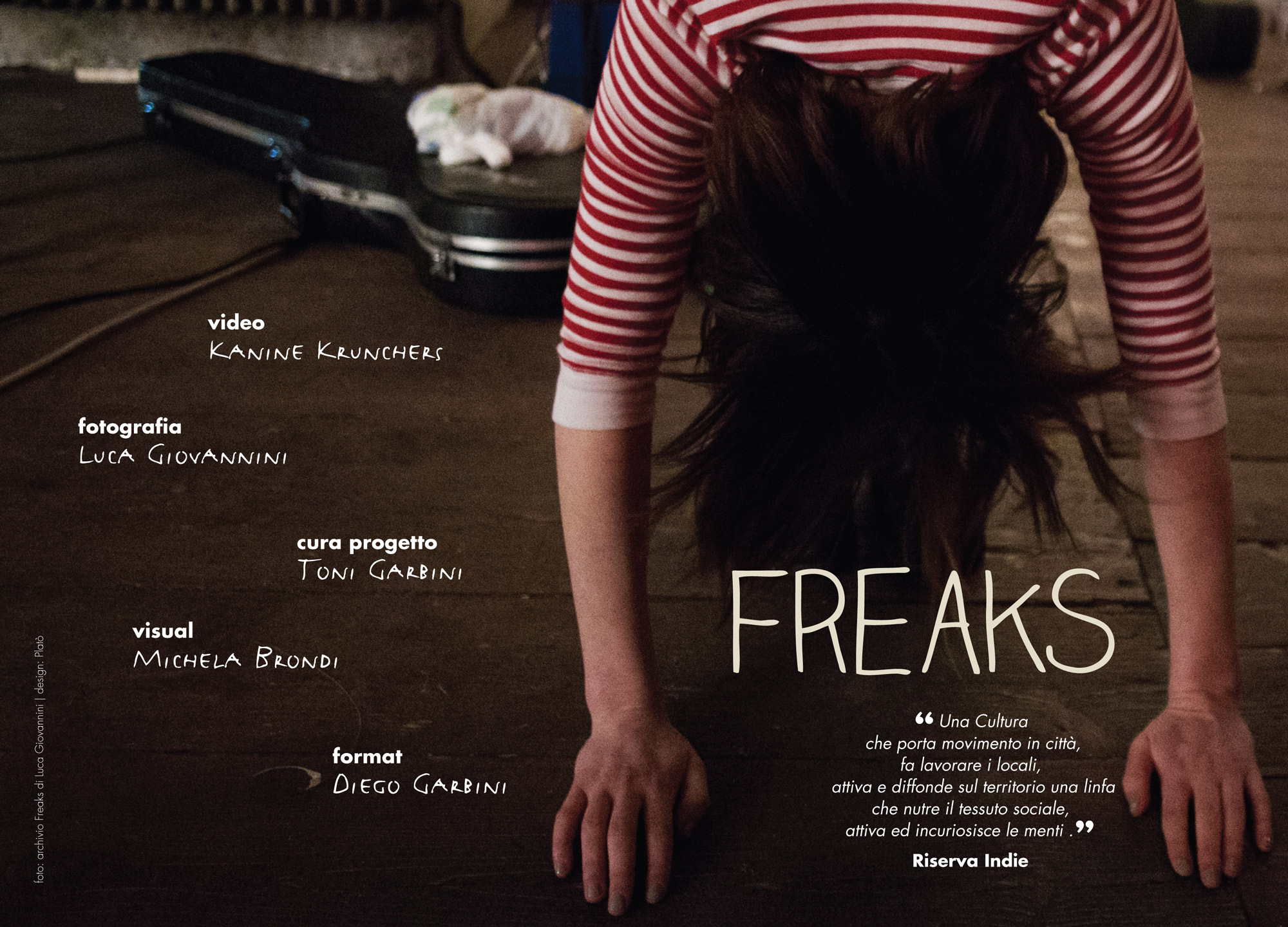 freaks brochure