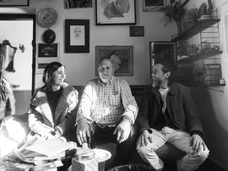 Michela Brondi, Luciano Ginesi e Diego Garbini - foto di Luca Giovannini
