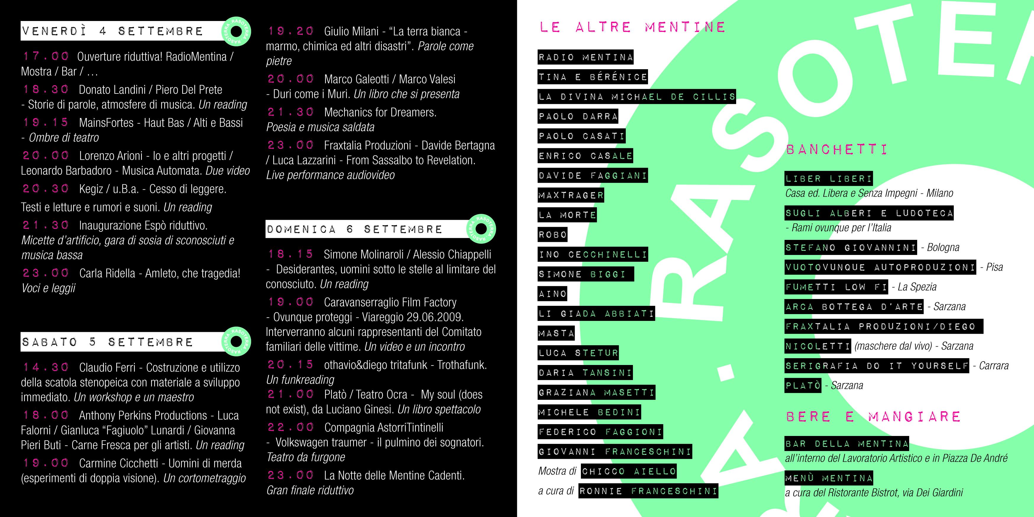 flyer festival della mentina 2015