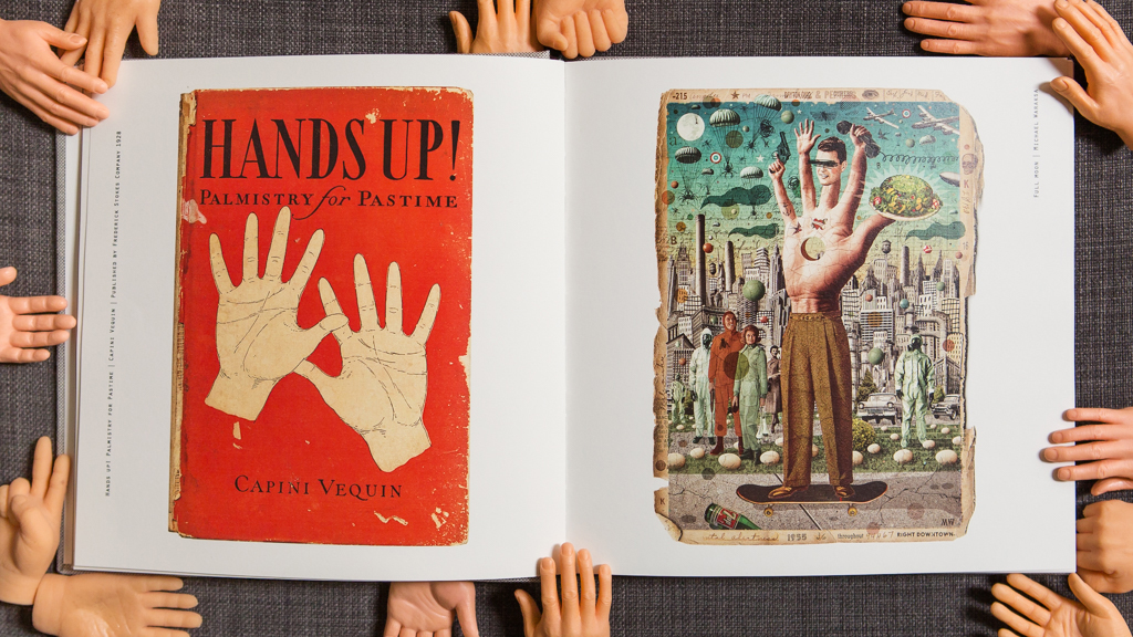 A BOOK ABOUT HANDS gallery Capini Vequin // Michael Waraksa